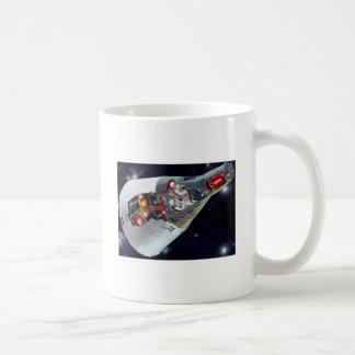 Gemini Spacecraft Cut-out Mug
