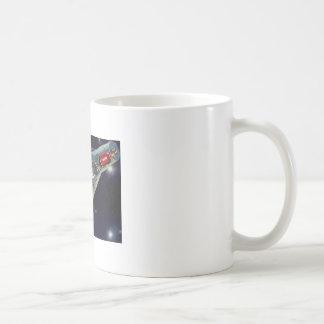 Gemini Spacecraft Cut-out Coffee Mugs