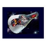 Gemini Spacecraft Cut-out Post Card