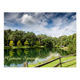 Gemini Springs Park Postcard