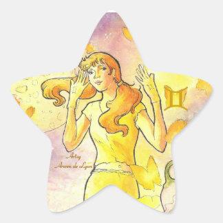 Gemini Star Sticker