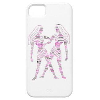 Gemini Style Word Art iPhone SE/5/5s Case