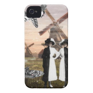 Gemini- Surrealist Zodiac Collage I Phone Case iPhone 4 Cases