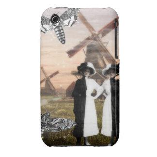 Gemini- Surrealist Zodiac Collage I Phone Case iPhone 3 Cases