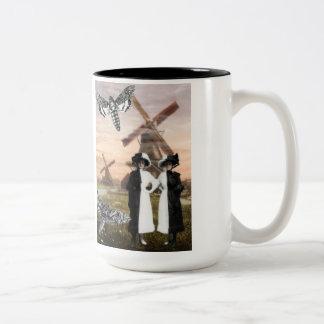 Gemini- Surrealist Zodiac Collage Mug