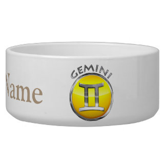 Gemini Symbol Bowl