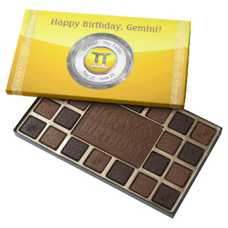 Gemini - The Twins Astrological Sign Assorted Chocolates