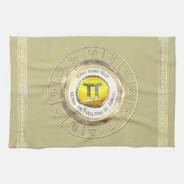 Gemini - The Twins Astrological Sign Towel