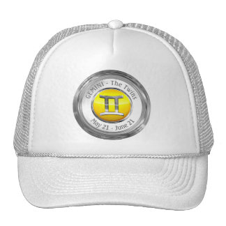 Gemini - The Twins Astrological Sign Trucker Hat