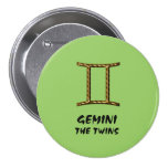 Gemini the twins button