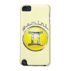 Gemini | The Twins Horoscope Sign iPod Touch 5G Cover