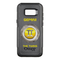Gemini - The Twins Horoscope Sign OtterBox Commuter Samsung Galaxy S8  Case