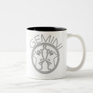 Gemini the Twins Two-Tone Coffee Mug