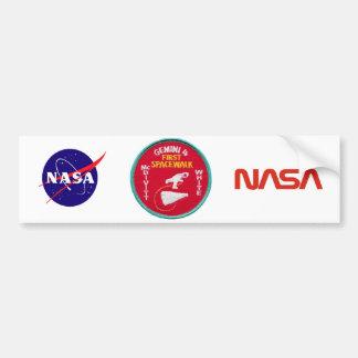 Gemini Titan 4: McDivitt and Young Bumper Sticker