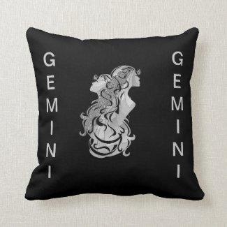 Gemini Twins American Mojo Pillow
