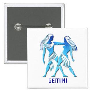 Gemini Twins Pin