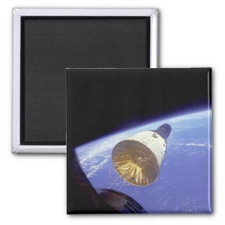 Gemini VI 2 Inch Square Magnet