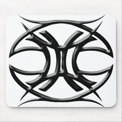 Tattoos Astrology Signs on The Gemini Astrology Sign Will Love This Tribal Zodiac Gemini Sign