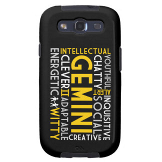 Gemini Word Collage Samsung Galaxy S3 Case
