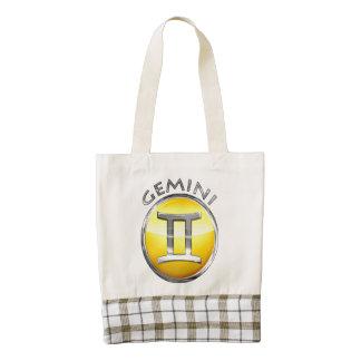 Gemini Zazzle HEART Tote Bag