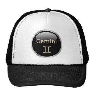 Gemini zodiac astrology star sign hat, cap trucker hat