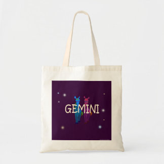Gemini Zodiac Tote Bag