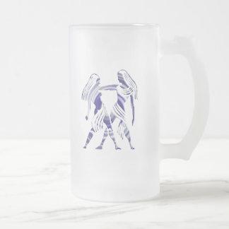 Gemini Zodiac Beer Mug