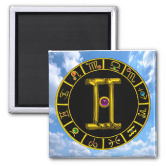 GEMINI / ZODIAC BIRTHDAY SIGNS MAGNET
