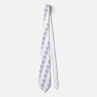 Gemini Zodiac Men's Tie