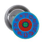 Gemini Zodiac Pinback Buttons