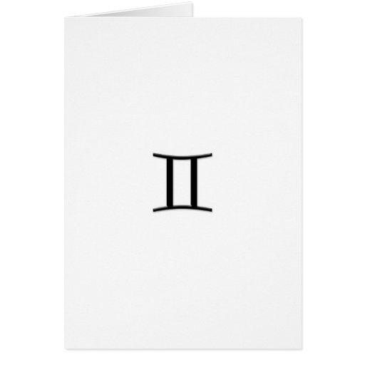 Gemini - Zodiac Sign Greeting Cards