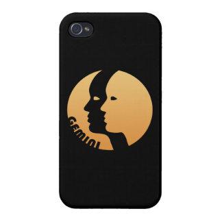 Gemini Zodiac Sign iPhone 4 Cover