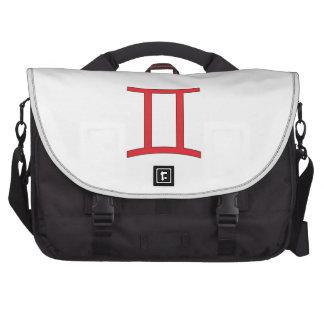 Gemini zodiac sign laptop bags