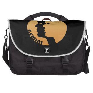 Gemini Zodiac Sign Laptop Computer Bag