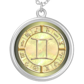Gemini Zodiac Sign Necklace
