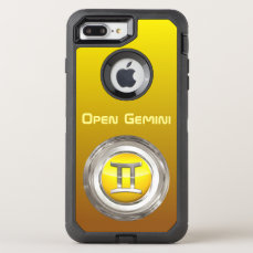 Gemini Zodiac Sign OtterBox Defender iPhone 7 Plus Case