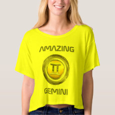 Gemini Zodiac Sign T-shirt