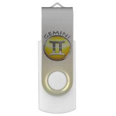 Gemini Zodiac Sign USB Flash Drive