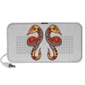 Gemini Zodiac - Snake iPod Altavoz