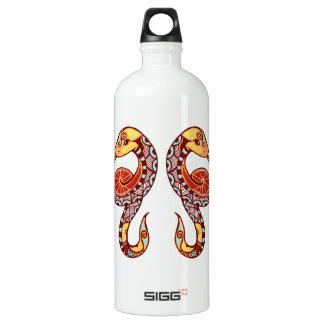 Gemini Zodiac - Snake Aluminum Water Bottle