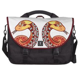 Gemini Zodiac - Snake Laptop Bag