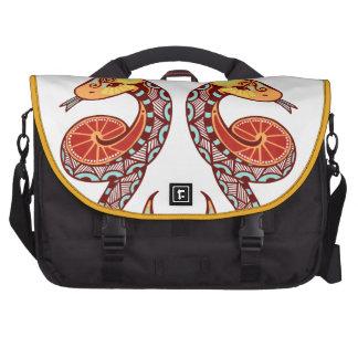Gemini Zodiac - Snake Commuter Bag