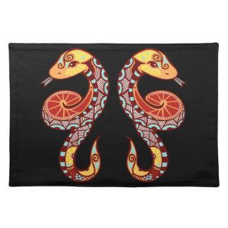 Gemini Zodiac - Snake Place Mat