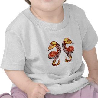 Gemini Zodiac - Snake Camiseta