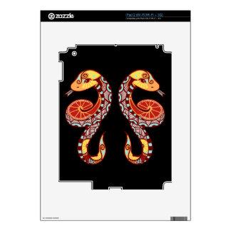 Gemini Zodiac - Snake iPad 2 Skins