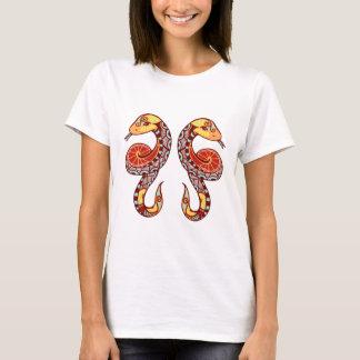 Gemini Zodiac - Snake T-Shirt