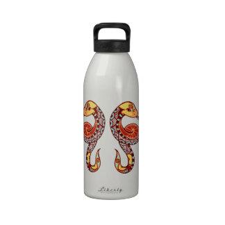 Gemini Zodiac - Snake Water Bottle