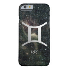 Gemini Zodiac Star Sign On Universe Barely There Iphone 6 Case at Zazzle