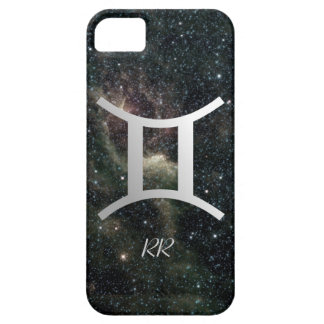Gemini Zodiac Star Sign on Universe iPhone 5 Cover