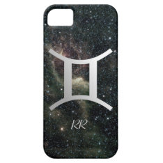 Gemini Zodiac Star Sign On Universe Iphone Se/5/5s Case at Zazzle